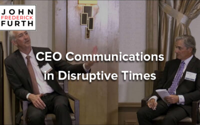 Video: CEO Communications in Disruptive Times