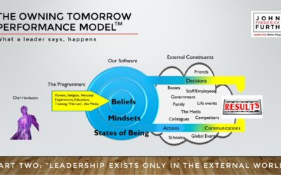 The Owning Tomorrow Performance Model: Leadership Exists Only in the External World (VIDEO)